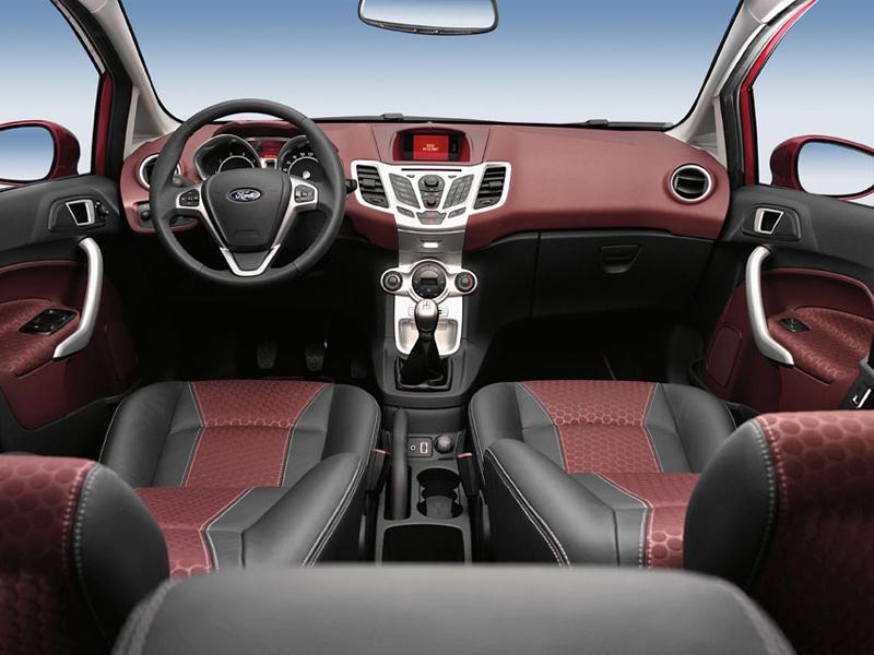 Foto Salpicadero Ford Fiesta Dos Volumenes 2009