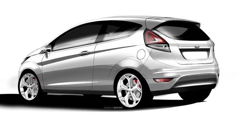 Foto Tecnicas Ford Fiesta Dos Volumenes 2012