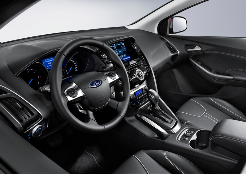 Interiores del Ford Focus