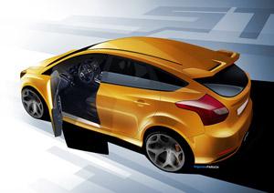 Foto Diseño  (3) Ford Focus-st Dos Volumenes 2011