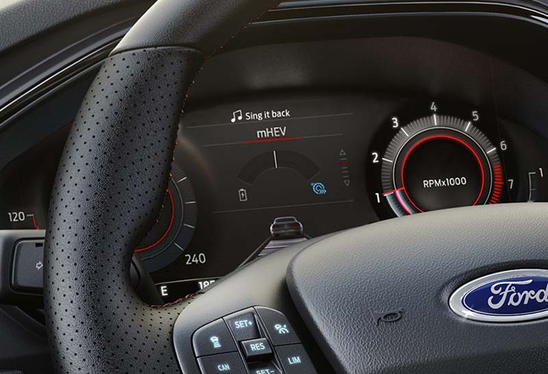 Ford Focus 1.0 EcoBoost MHEV 155 CV, foto cuadro de mandos