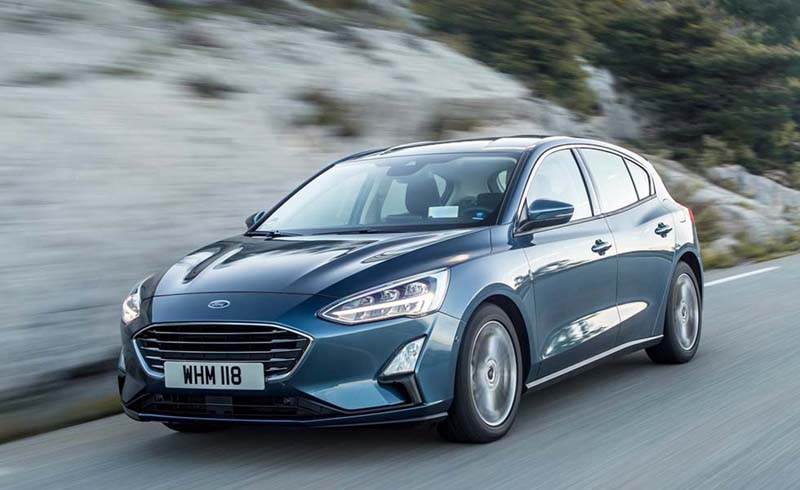 Ford Focus 1.0 EcoBoost MHEV 155 CV, foto trasera