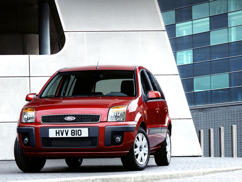 Foto Delantero Ford Fusion Dos Volumenes 2008