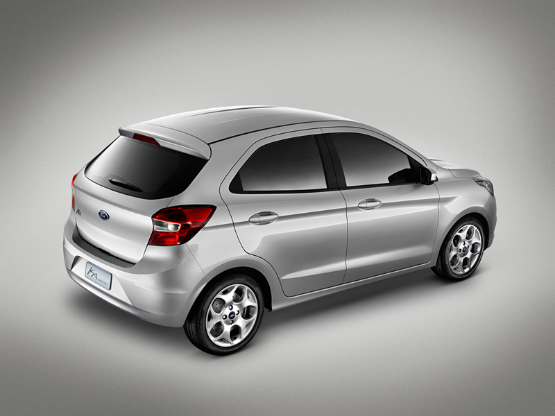 Foto Lateral Ford Ka Concept Dos Volumenes 2013