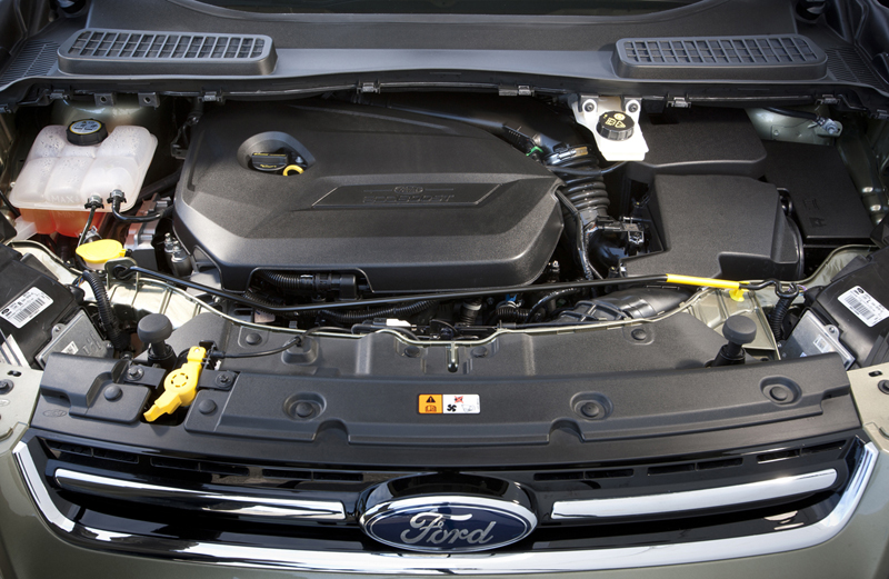 Foto Tecnicas Ford Kuga Suv Todocamino 2012