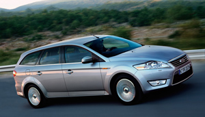 Foto Lateral Ford Mondeo Familiar 2007
