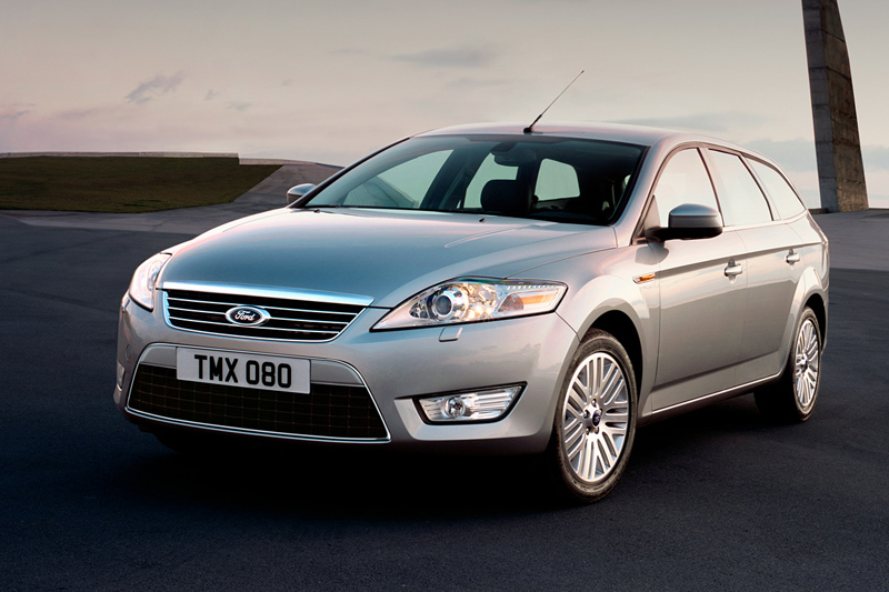 Foto Delantero Ford Mondeo Familiar 2007