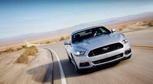 Foto Delantera Ford Mustang Cupe 2013