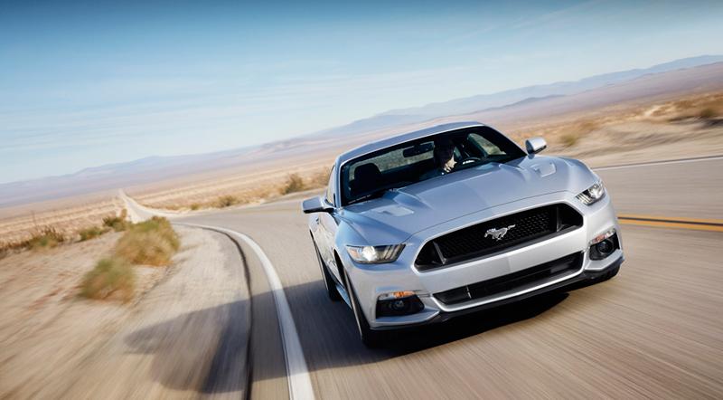 Foto Delantera Ford Mustang Cupe 2013