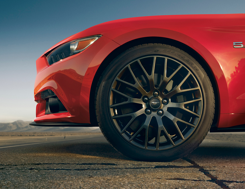 Foto Detalles Ford Mustang Cupe 2013