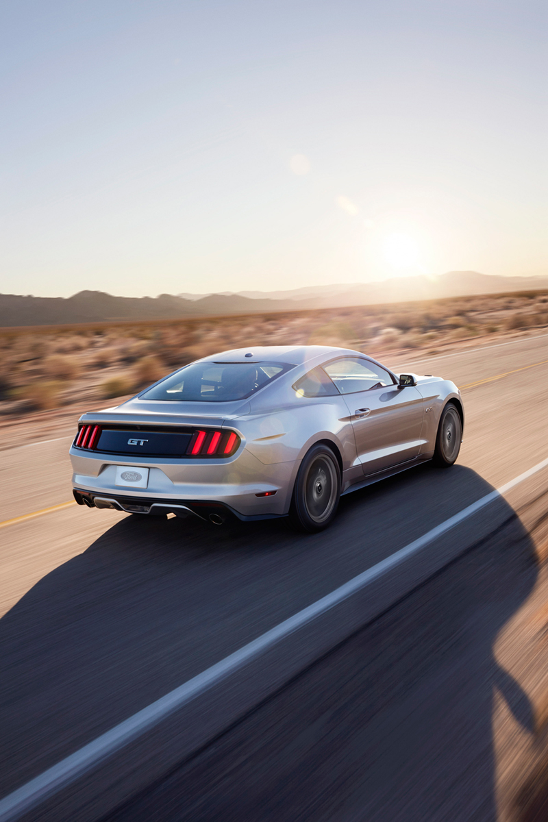 Foto Exteriores Ford Mustang Cupe 2013