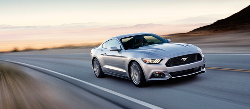 Foto Perfil Ford Mustang Cupe 2013