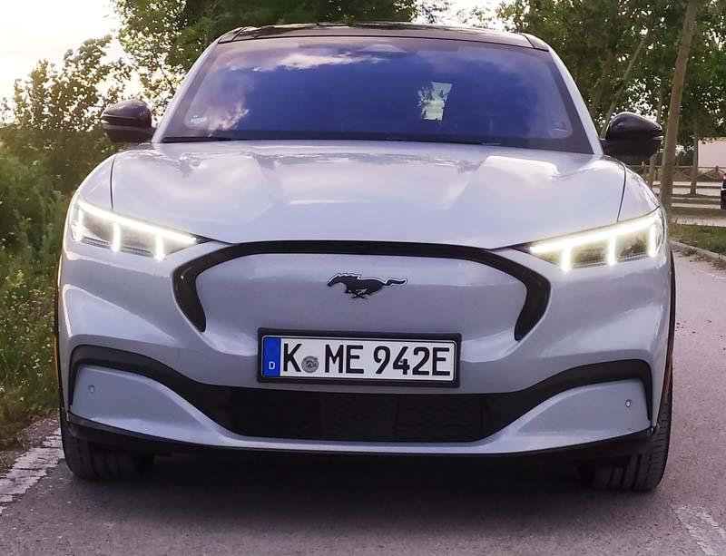 Foto Exteriores Ford Mustang Mach E Suv Todocamino 2021
