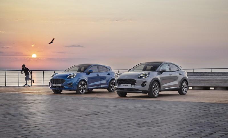 Foto Delantera Ford Puma Suv Todocamino 2019