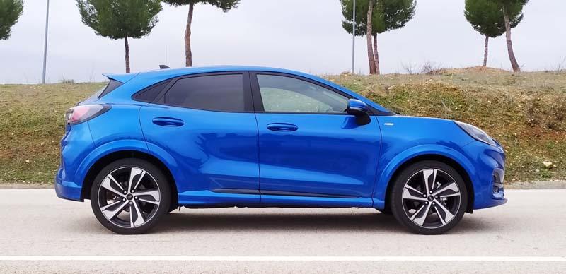 Ford Puma 2020, foto lateral