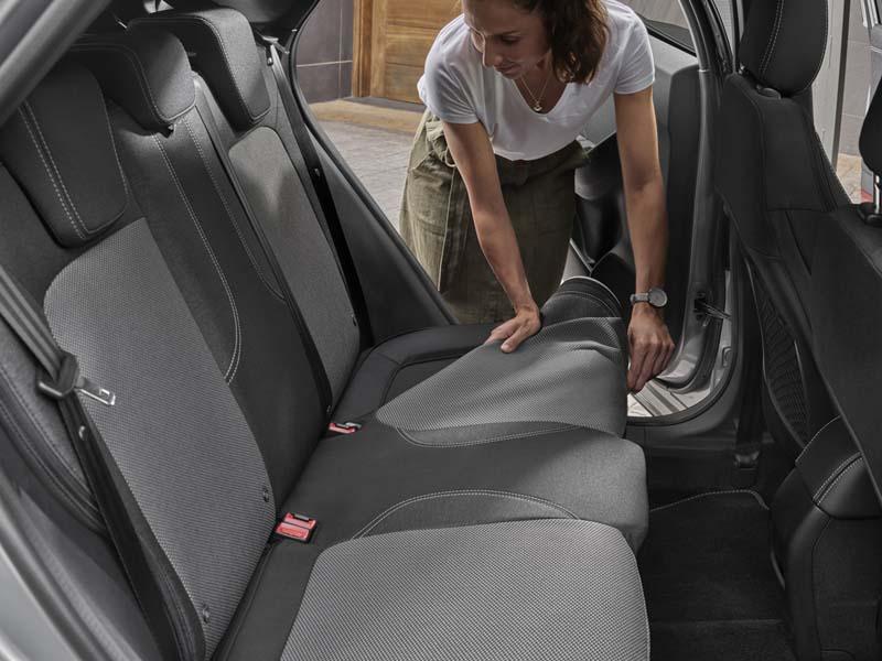 Ford Puma 2020, foto asientos traseros