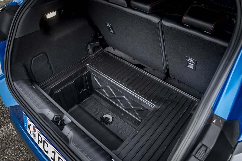 Ford Puma 2020, foto maletero
