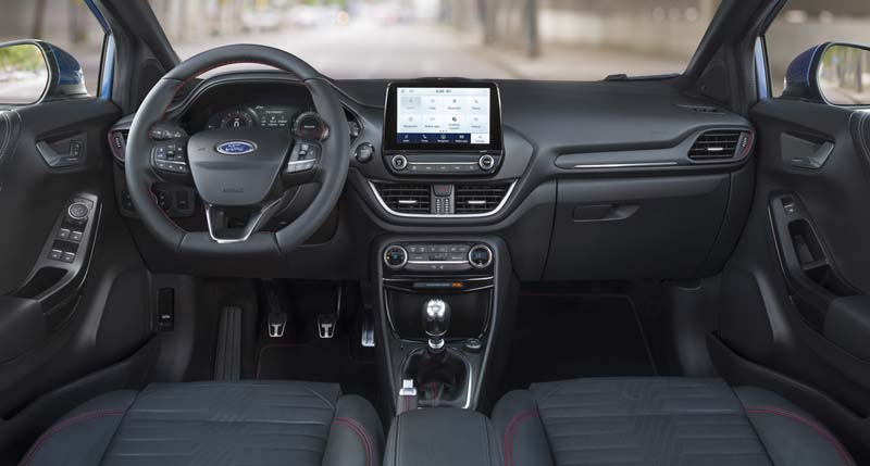 Ford Puma 2020, foto salpicadero