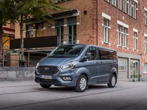 Foto Delantera Ford Tourneo-custom Vehiculo Comercial 2019