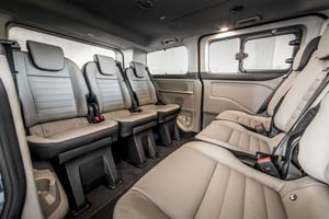 Foto Interiores (2) Ford Tourneo-custom Vehiculo Comercial 2019