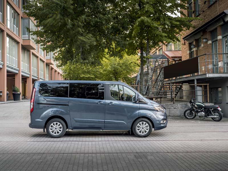 Foto Exteriores (1) Ford Tourneo-custom Vehiculo Comercial 2019