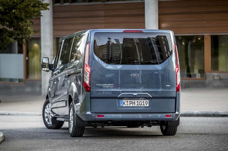 Foto Exteriores (20) Ford Tourneo-custom Vehiculo Comercial 2019