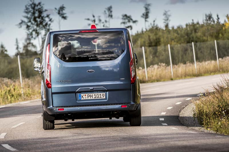 Foto Exteriores (29) Ford Tourneo-custom Vehiculo Comercial 2019