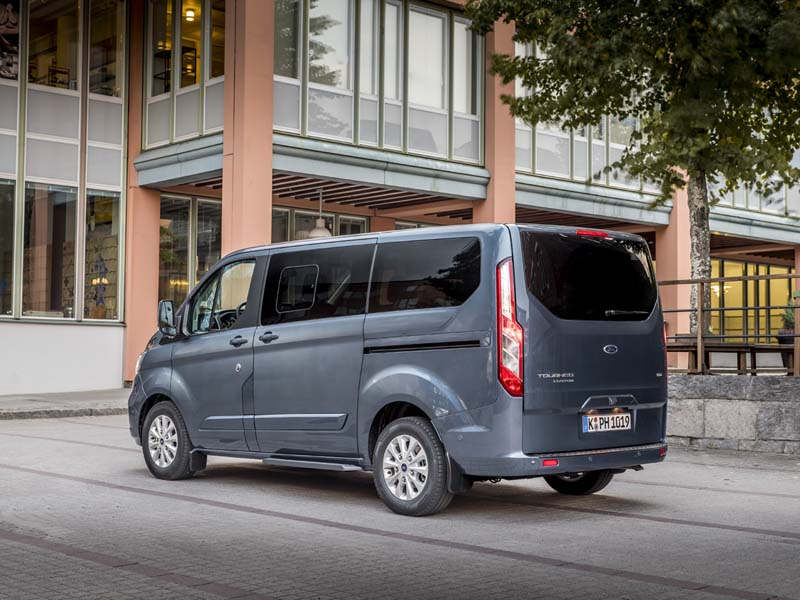 Foto Exteriores (7) Ford Tourneo-custom Vehiculo Comercial 2019
