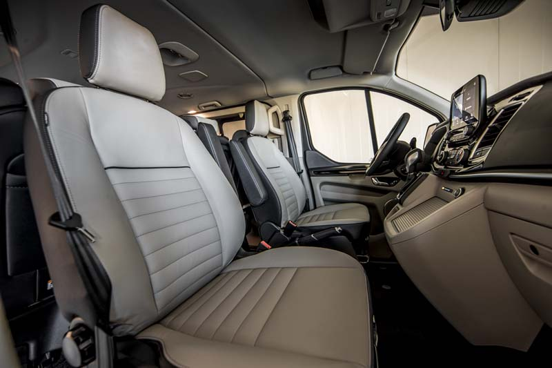 Foto Interiores (1) Ford Tourneo-custom Vehiculo Comercial 2019