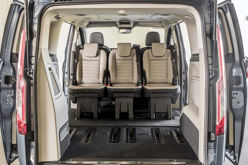 Foto Interiores (10) Ford Tourneo-custom Vehiculo Comercial 2019