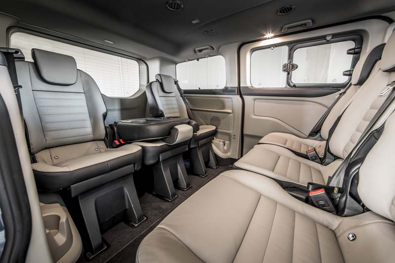 Foto Interiores (3) Ford Tourneo-custom Vehiculo Comercial 2019