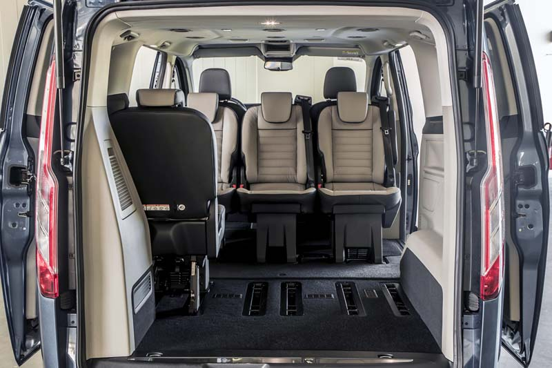 Foto Interiores Ford Tourneo Custom Vehiculo Comercial 2019