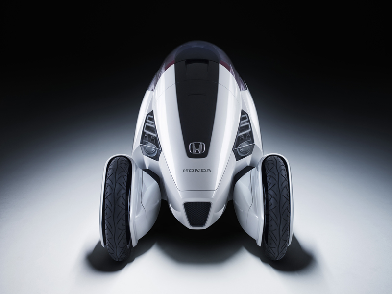 Foto Delantero Honda 3rc Concept 2010