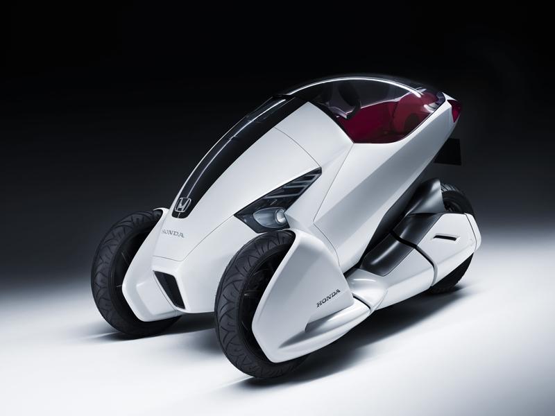 Foto Lateral Honda 3rc Concept 2010