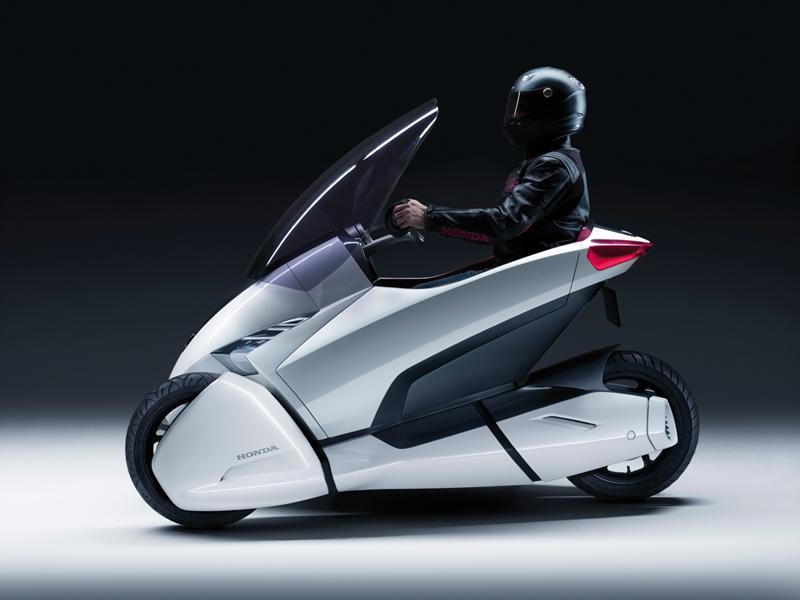 Foto Perfil Honda 3rc Concept 2010