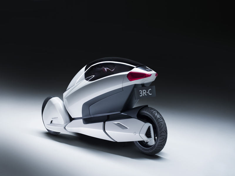 Foto Trasero Honda 3rc Concept 2010