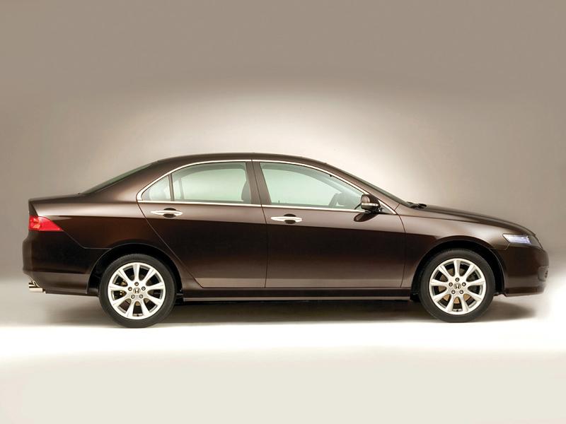 Foto Lateral Honda Accord Sedan 2003