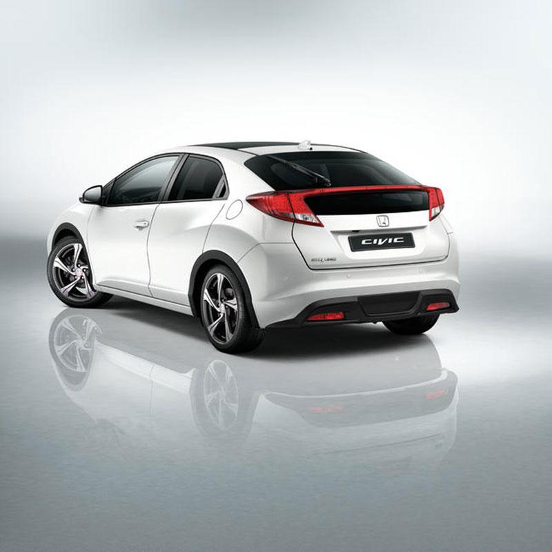 Foto Trasera Honda Civic Dos Volumenes 2012