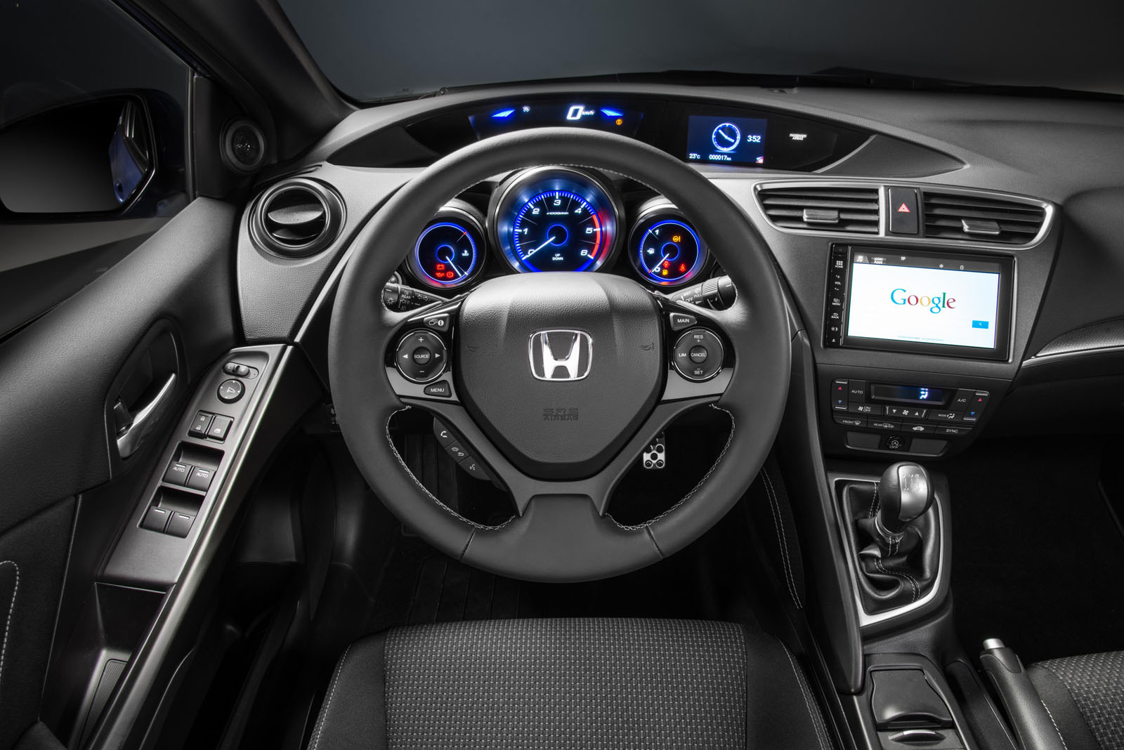 Foto salpicadero honda civic dos volumenes 2015 - 2016 honda civic si coupe interior ...