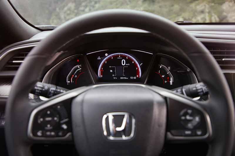 Foto Detalles Honda Civic Dos Volumenes 2017