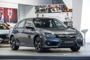 Foto Delantera Honda Civic Sedan 2017