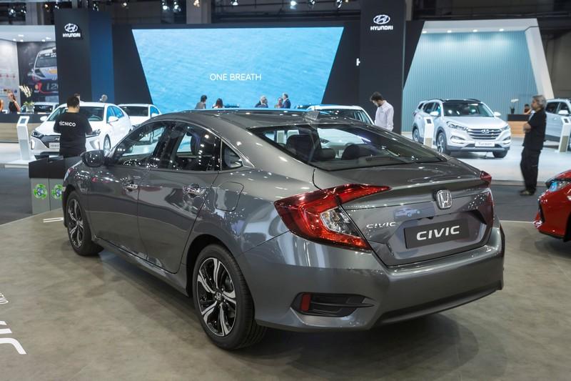 Foto Exteriores Honda Civic Sedan 2017