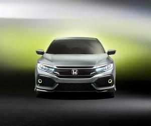Foto Delantera Honda Civic-5-puertas-prototype Concept 2016