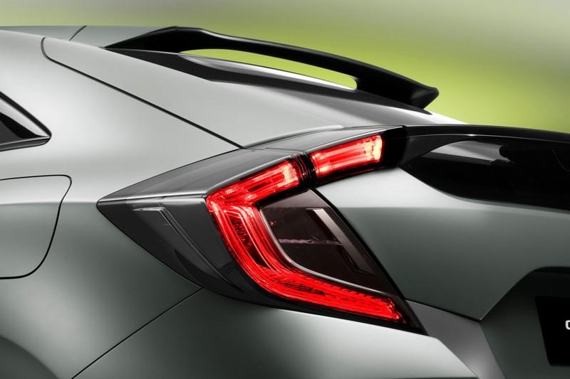 Foto Detalles 2 Honda Civic-5-puertas-prototype Concept 2016