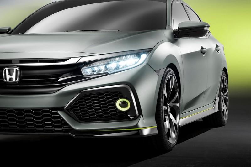 Foto Detalles Honda Civic 5 Puertas Prototype Concept 2016