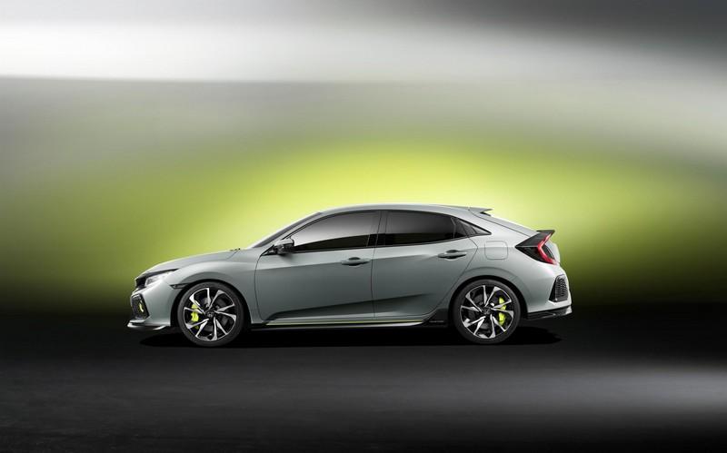 Foto Exteriores Honda Civic-5-puertas-prototype Concept 2016