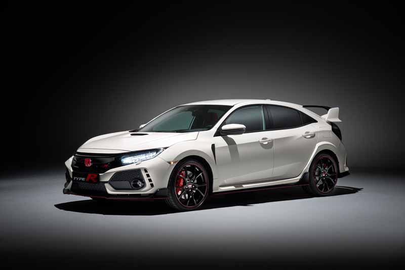 Foto Delantera Honda Civic Type R Dos Volumenes 2017
