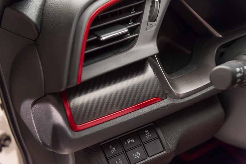 Foto Detalles Honda Civic Type R Dos Volumenes 2017