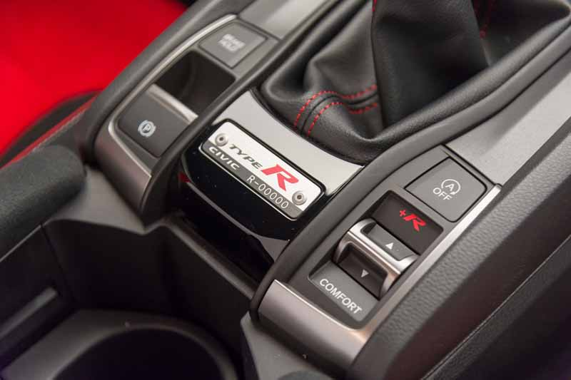 Honda Civic Type R 2017, foto interior