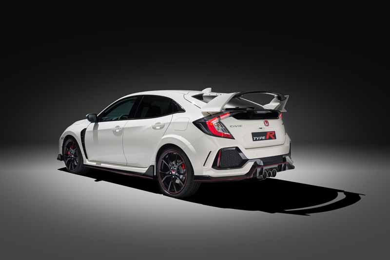 Honda Civic Type R 2017; ahora con 320 caballos